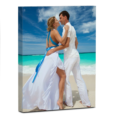 Wall Display/Canvas Gallery Wrap/Portrait/Image On Border