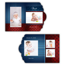 Press Printed Cards/Folded Card/Boutique Card/Babies and Children