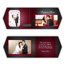 Press Printed Cards/Folded Card/Boutique Card/Wedding