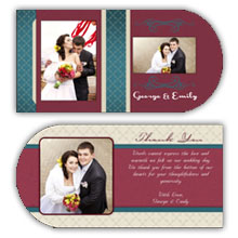 Press Printed Cards/Folded Card/Boutique Card
