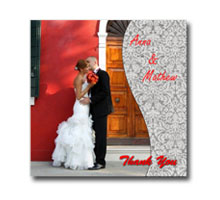 Press Printed Cards/Flat Card/Thank You Cards/029 Square