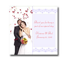 Press Printed Cards/Flat Card/Thank You Cards/009 Square