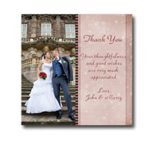 Press Printed Cards/Flat Card/Thank You Cards/011 Square