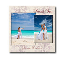 Press Printed Cards/Flat Card/Thank You Cards/014 Square