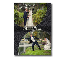 Press Printed Cards/Flat Card/Thank You Cards/018 Portrait
