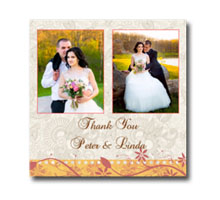 Press Printed Cards/Flat Card/Thank You Cards/018 Square