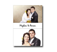 Press Printed Cards/Flat Card/Thank You Cards/004 Portrait