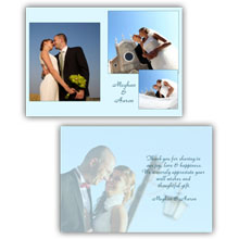 Press Printed Cards/Folded Card/Thank You Cards/Spine On Left/007 Portrait