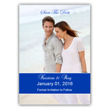 Press Printed Cards/Flat Card/Save The Date/002 Portrait