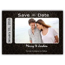 Press Printed Cards/Flat Card/Save The Date/004 Landscape