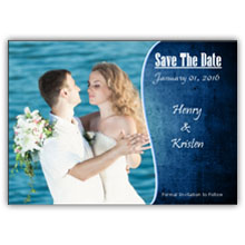 Press Printed Cards/Flat Card/Save The Date/006 Landscape