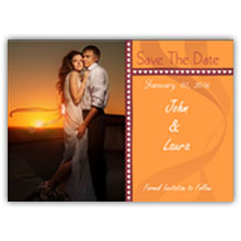 Press Printed Cards/Flat Card/Save The Date/009 Landscape