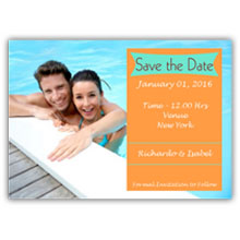 5.5X4 Save The Date(010L)