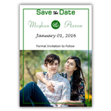 Press Printed Cards/Flat Card/Save The Date/011 Portrait