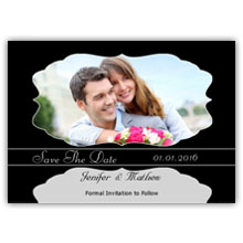 Press Printed Cards/Flat Card/Save The Date/013 Landscape