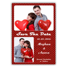 Press Printed Cards/Flat Card/Save The Date/015 Portrait