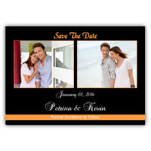 Press Printed Cards/Flat Card/Save The Date/016 Landscape