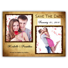 5.5X4 Save The Date(017L)
