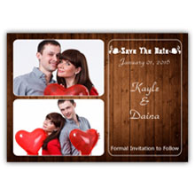 5.5X4 Save The Date(021L)