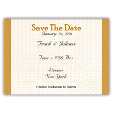 5.5X4 Save The Date(023L)