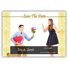 Press Printed Cards/Flat Card/Save The Date/028 Landscape
