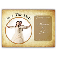5.5X4 Save The Date(026L)