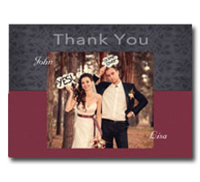 Press Printed Cards/Flat Card/Thank You Cards/026 Landscape