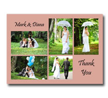Press Printed Cards/Flat Card/Thank You Cards/029 Landscape