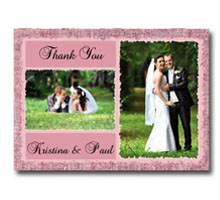 Press Printed Cards/Flat Card/Thank You Cards/011 Landscape