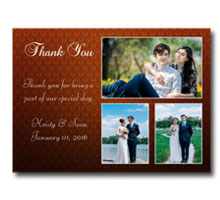 Press Printed Cards/Flat Card/Thank You Cards/020 Landscape