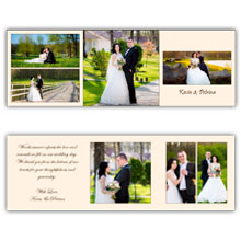 Press Printed Cards/Trifold/5x5/005